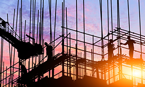 New Build Housing - Construction Site