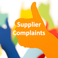 Supplier Complaints
